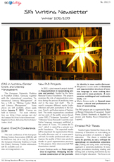 EARLI SIG Writing Newsletter 2012-3